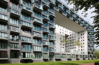 apartment buildings projects Amsterdam (49 images)